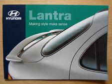 HYUNDAI LANTRA 1998 UK Mkt sales brochure