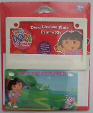 Dora the Explorer License Plate Frame Kit Bicycle Nick Jr New