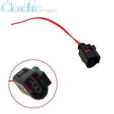 x1 Neu 2-polig Stecker Buchse Kabel 1J0973702 Für VW Jetta Golf CC AUDI Q7 A4 A6