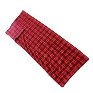 Flannel Sleeping Bag Liner/  Sleeping Blanket