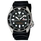 SEIKO SKX007K1 Men's Diver ISO 6425 Rated 200M Automatic Silicone Strap Black