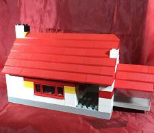 Vintage1960's Lego System DBGM Angem Built House Red Roof