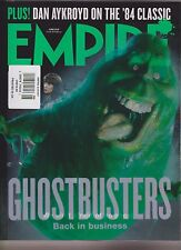 EMPIRE UK MAGAZINE #324 JUNE 2016, GHOST BUSTERS BACK IN BUSINESS.