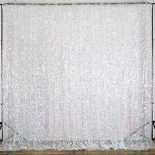 20FT x 10FT Big Payette Sheer Sequin Backdrop Curtain Wedding Party Decoration