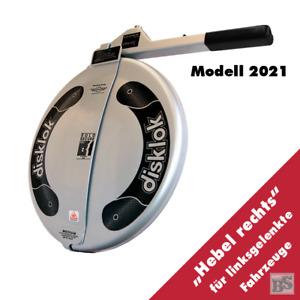 BS-Disklok M 415 SILBER 2021 Lenkradkralle - Lenkrad-Ø von 38,6-41 cm
