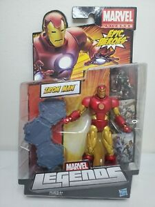 "MARVEL LEGENDS 6"" Iron Man Shell Head Classic Armor EPIC HEROES Tony Stark NEW"