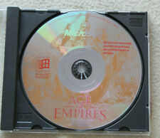 Age Of Empires 1 (PC-CD-ROM, 1997, Jewelcase)