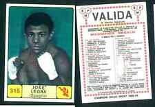 Josè Legra (Spain) Campioni dello Sport 1968-69! Ed.Panini Valida VG n.316