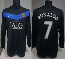 Manchester Utd 2010 Away RONALDO LONGSLEEVE football shirt soccer jersey Nike XL