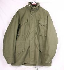 M-65 Vintage 1967 Vietnam War OG Olive Green Canvas Field Coat Men Medium Long