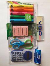 School Supplies Essentials Bundle Pack 5 Items