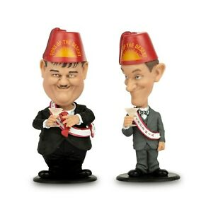 Laurel and Hardy Mini Bobble-Head 2-Pack Sons of the Desert FREE P&P DISCOUNTED