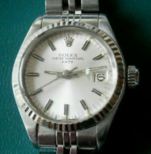 Damen Rolex Oyster Perpetual Date,Automat,Stahl, mit Papieren