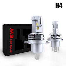 H4 LED High-Low Beam Headlight Kit 9003 240000LM ZES Chips 6500K White Fog Lamp