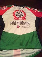 Mint Womens Primal Wear Full Zip Cycling Jersey Italian Colors Fiat XL