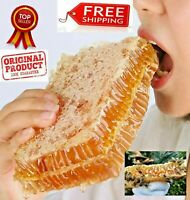 Honeycomb 100% Raw Pure Organic Natural Wildflower Honey comb 200g 7 Oz عسل شمع
