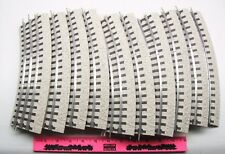 Atlas  ~ 11 ~ 0-36 Curve snap-fit track with roadbed O gauge