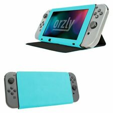 Stand And Type Case Cover For Nintendo Switch - Blue By Orzly