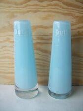 Dutz Vase pale blue 15 cm Glas mundgeblasen rund glasvase solifleur hell blau