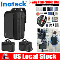"Inateck Travel Gear 15.6"" Laptop Backpack Swiss Waterproof Rucksack Shoulder Bag"