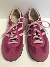 ASIC ONITSUKA TIGER size 7 or 38 MACHU RACE pink suede sneakers running shoes