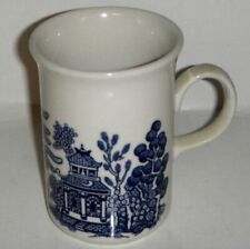 Churchill Blue Willow Tall Mug