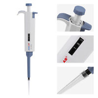 50/200/1000ul Single-channel Manual Adjustable Pipette Pipettor Pipet Tool stw