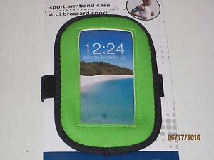 Sport Armband Smartphone Case - Fits Most Cell Phones Exercise Music Walking Gym