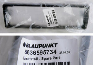 Original Blaupunkt Car Radio Frontblende 187x55x10 schwarz 8636595734