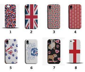 UK Phone Case Cover Union Jack Flag Great Britain British English London 8088i