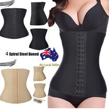 Women Body Shaper Slim Waist Trainer Cincher Tummy Belt Corset Shapewear Girdle