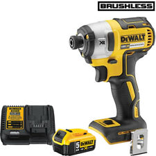 Dewalt DCF887N 18V XR Brushless Impact Driver With 1 x 5.0Ah Battery & Charger
