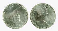 pcc2039_21) CANADA - SILVER 1 DOLLAR 1976   - ELIZABETH II