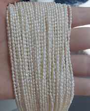 Jewelry making 1Strand Natural Freshwater Pearl Beads Beaded 3-8mm