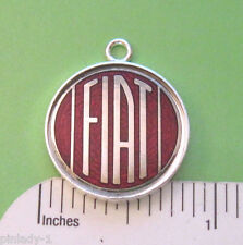 """FIAT logo - Necklace with 20"""" durable cable chain GIFT BOXED"""