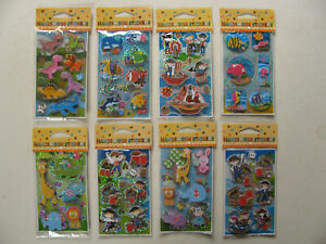 Handiwork Stickers 3D Effect Small Pack Novelty Various Fun Kids Children