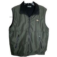 Level Wear Superior National At Lutsen Full Zip Reversible Vest Vented Mens Sz M