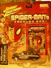 Johnny Lightning Spider-man's Tangled Web 1949 Mercury Black