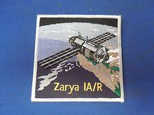 Zarya IA/R Space Satellite Iron On Patch