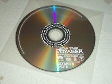 REPLACEMENT Disc 6 only, Star Trek Voyager SEASON 5, VOY DVD
