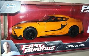 Jada Fast and Furious Toyota GR Supra 1:32, 1/32 F9 The Fast Saga, Diecast Model