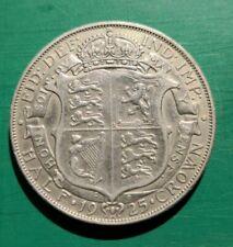 More details for 1925 george v 50% silver scarce halfcrown #108