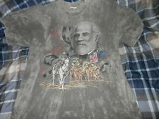 Civil War General Robert E Lee South Confederate T Shirt Size Large