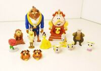 Disney Beauty And The Beast Mini Figures Bundle - Cake Toppers