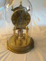 Vintage West Germany KUNDO KIENINGER & OBERGFELL 400 Day Anniversary Dome Clock