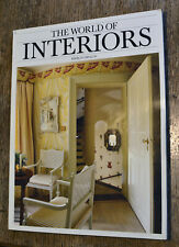 The World of Interiors magazine March 1989