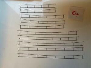 JV Lybe HO 10 câbles caténaire 25Kv
