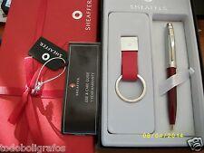 Pen, Stylo, penna, Boligrafo Sheaffer 100  Laca Roja Brillante. Nuevo.