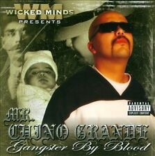 Chicano Rap CD Mr Chino Grande - Gangster By Blood - FROST WRECK Cali Life Style