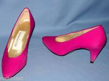 1819_SEXY NATURALIZER WOMENS ROSE 3 INCH HEEL FABRIC SHOES PUMPS SIZE 5.5B